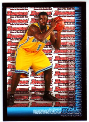 2005-06 Bowman #137 Brandon Bass RC