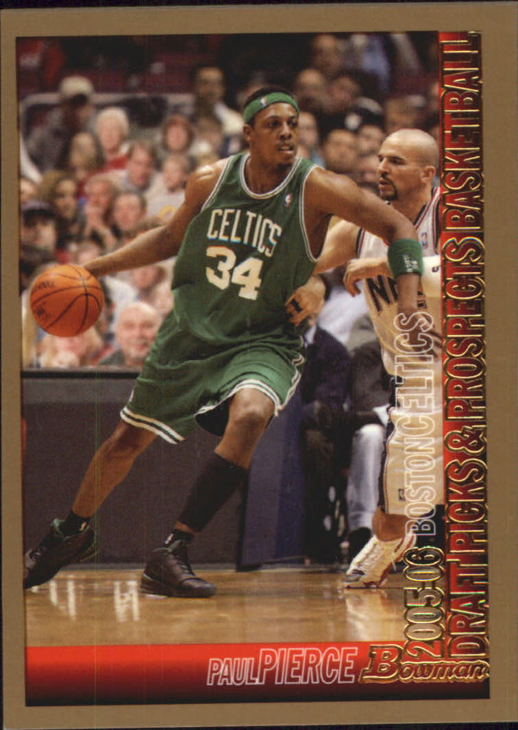 2005-06 Bowman Gold #54 Paul Pierce