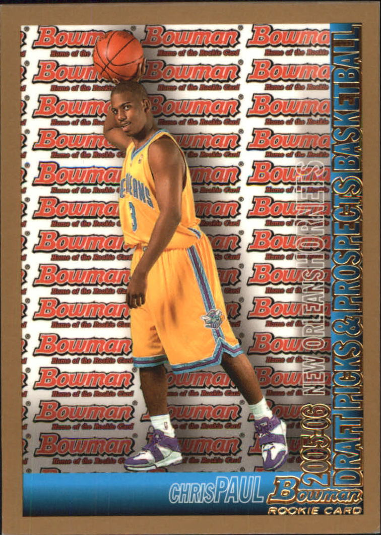 2005-06 Bowman Gold #111 Chris Paul