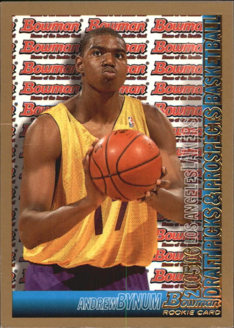 2005-06 Bowman Gold #134 Andrew Bynum