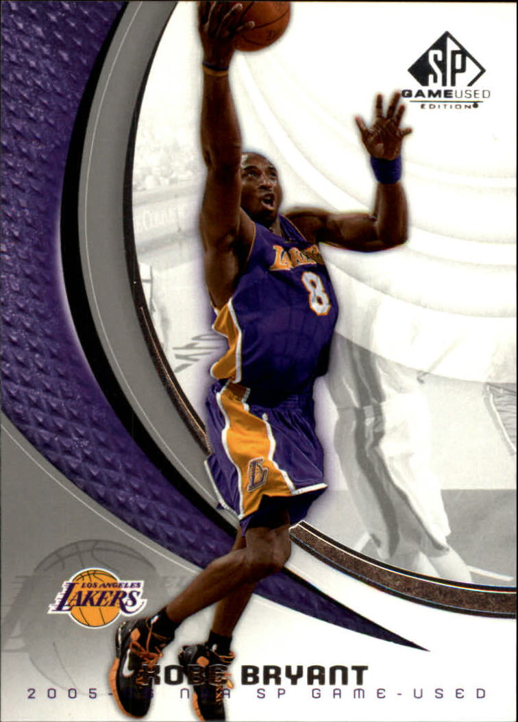 2005-06 SP Game Used #44 Kobe Bryant