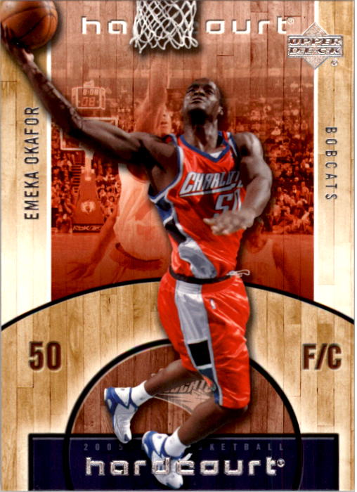 2005-06 Upper Deck Hardcourt #8 Emeka Okafor