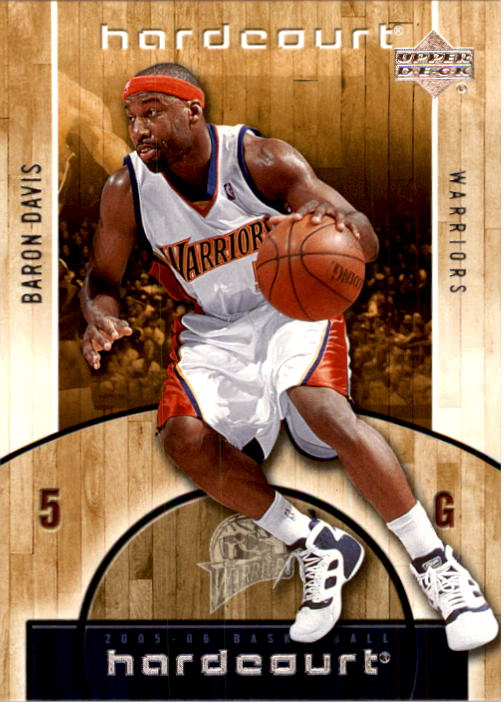 2005-06 Upper Deck Hardcourt #27 Baron Davis