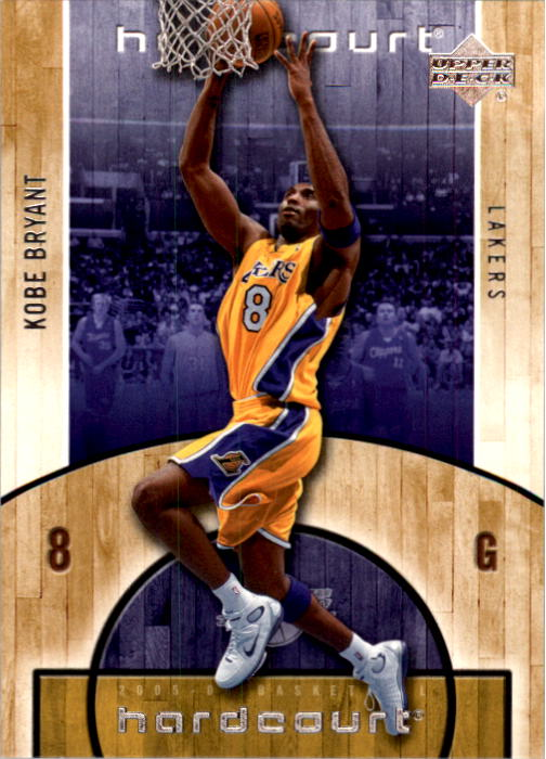 2005-06 Upper Deck Hardcourt #38 Kobe Bryant