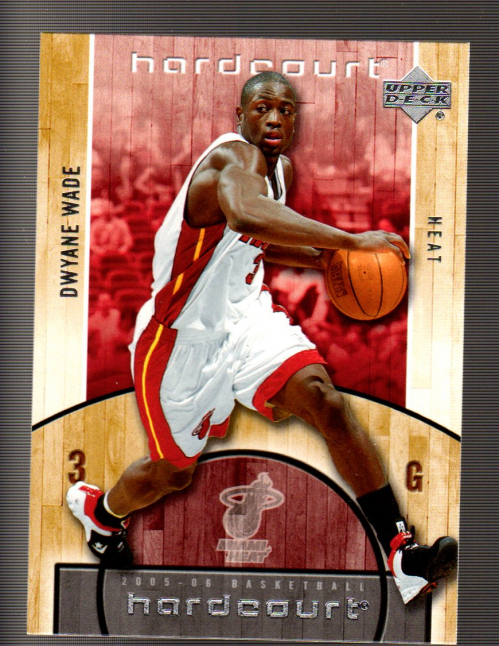 2005-06 Upper Deck Hardcourt #43 Dwyane Wade