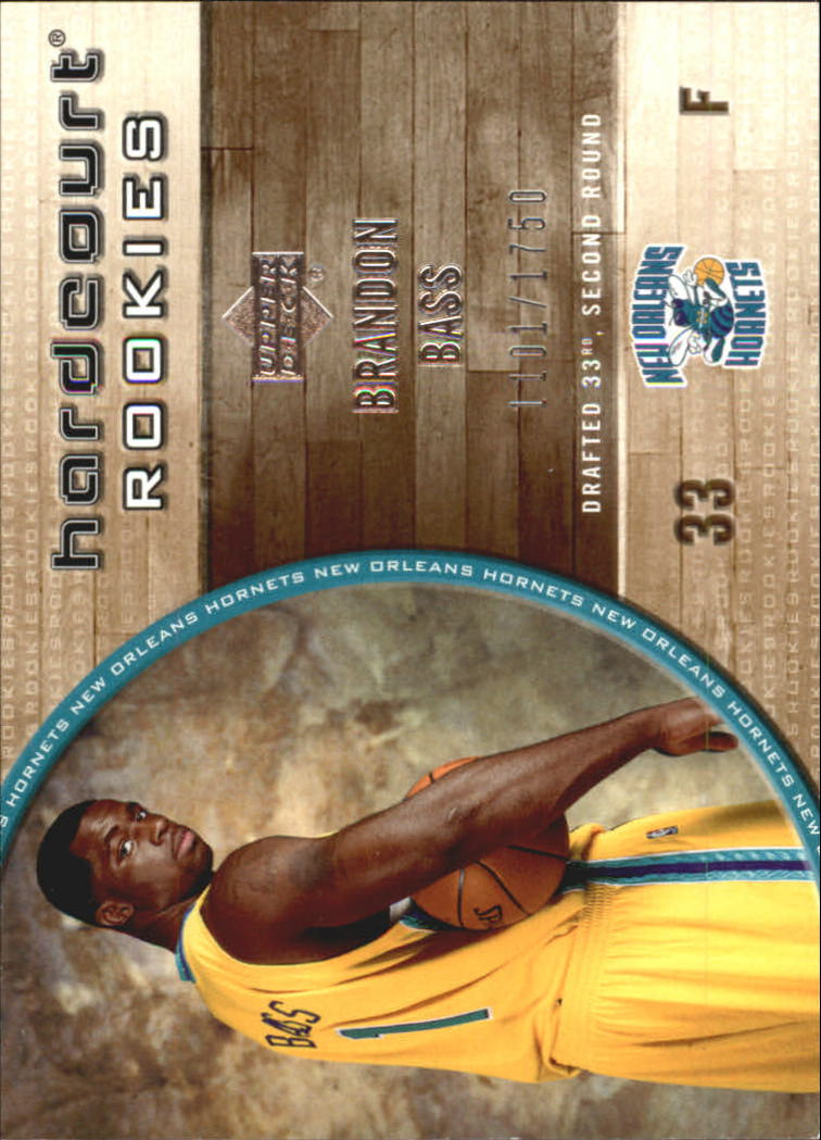 2005-06 Upper Deck Hardcourt #97 Brandon Bass RC