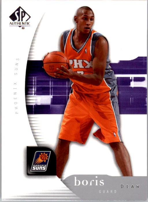 2005-06 SP Authentic #1 Boris Diaw