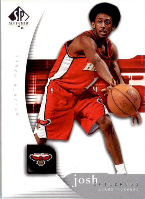 2005-06 SP Authentic #2 Josh Childress
