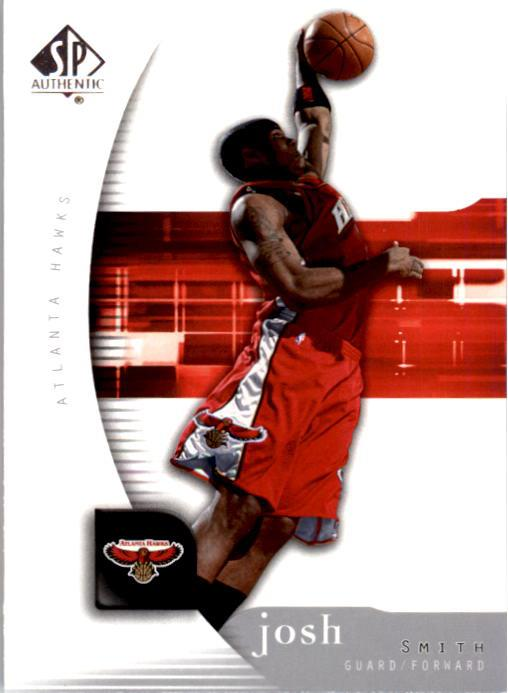 2005-06 SP Authentic #3 Josh Smith