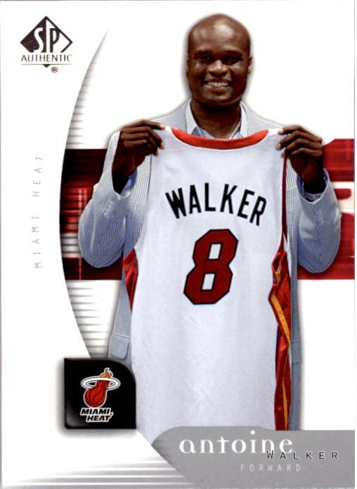 2005-06 SP Authentic #4 Antoine Walker