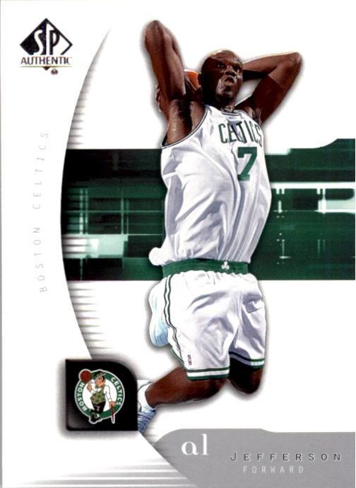 2005-06 SP Authentic #5 Al Jefferson