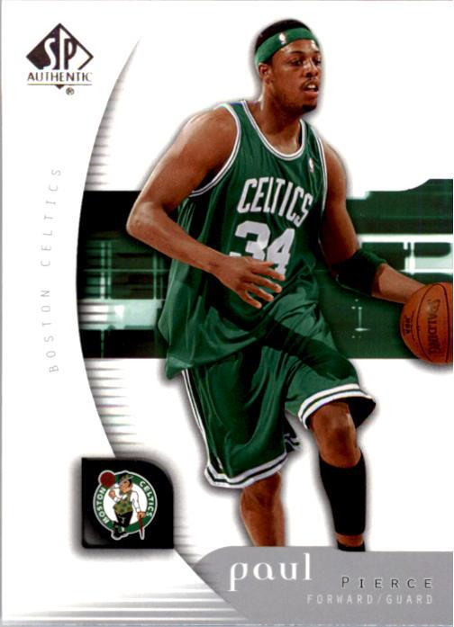 2005-06 SP Authentic #6 Paul Pierce