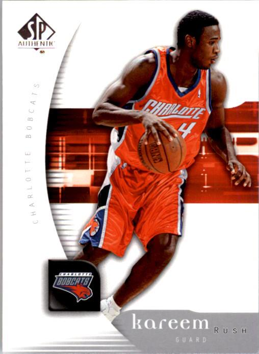 2005-06 SP Authentic #7 Kareem Rush