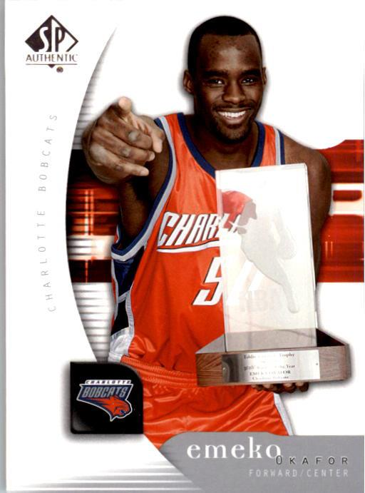 2005-06 SP Authentic #8 Emeka Okafor