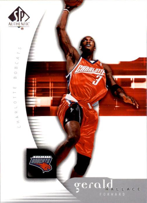 2005-06 SP Authentic #9 Gerald Wallace