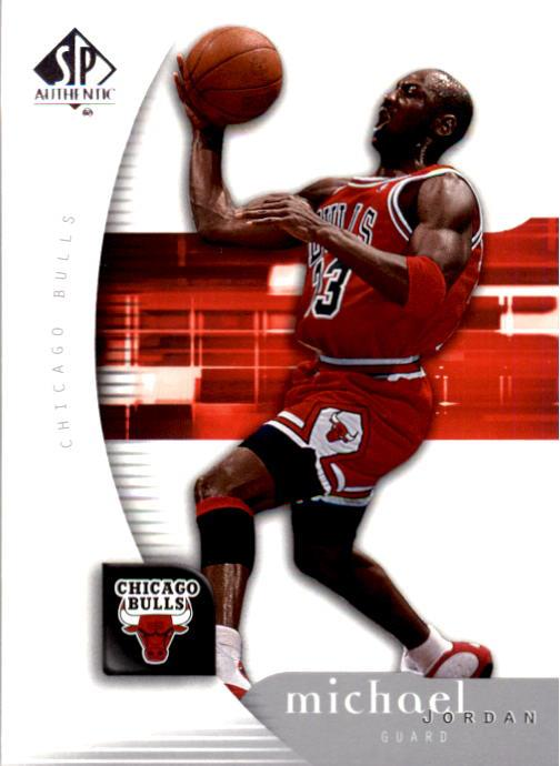 2005-06 SP Authentic #12 Michael Jordan