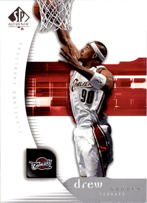 2005-06 SP Authentic #13 Drew Gooden