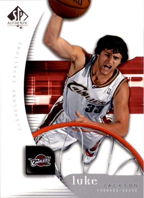 2005-06 SP Authentic #15 Luke Jackson