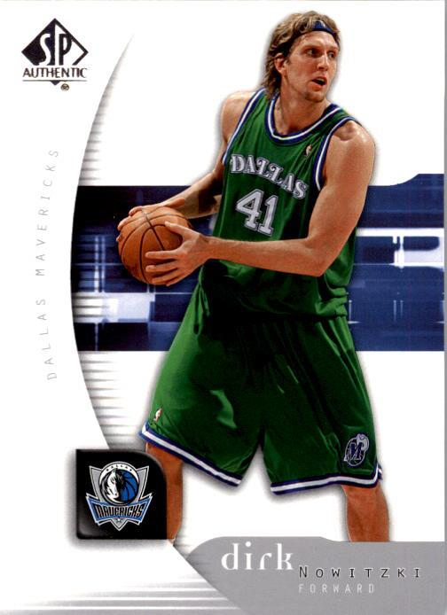 2005-06 SP Authentic #16 Dirk Nowitzki