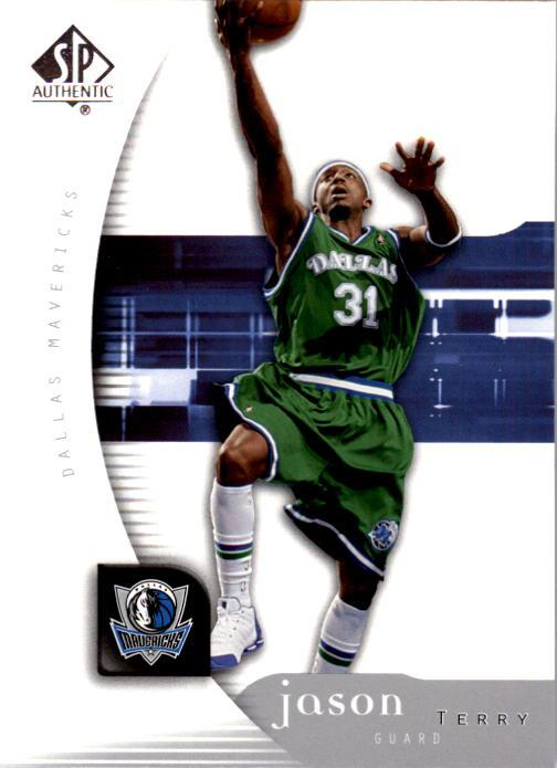 2005-06 SP Authentic #17 Jason Terry