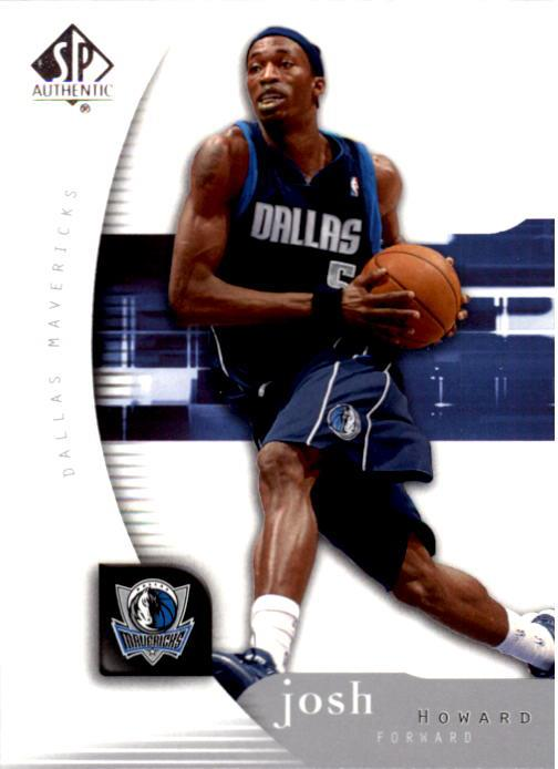 2005-06 SP Authentic #18 Josh Howard