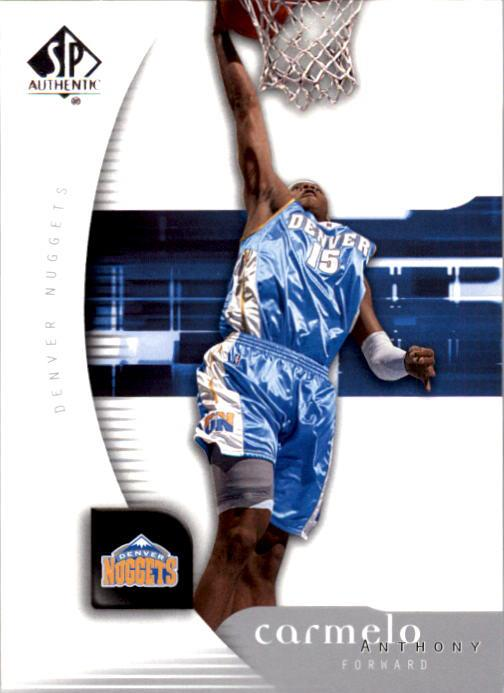 2005-06 SP Authentic #20 Carmelo Anthony