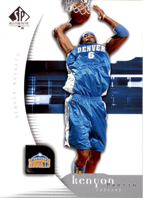 2005-06 SP Authentic #21 Kenyon Martin