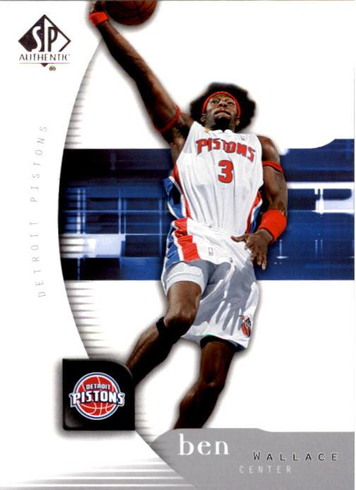 2005-06 SP Authentic #22 Ben Wallace