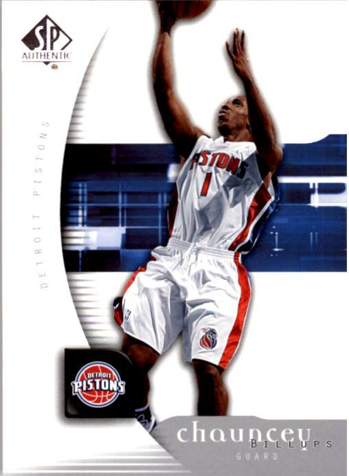 2005-06 SP Authentic #23 Chauncey Billups