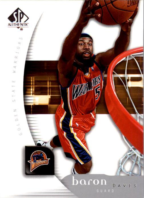 2005-06 SP Authentic #25 Baron Davis
