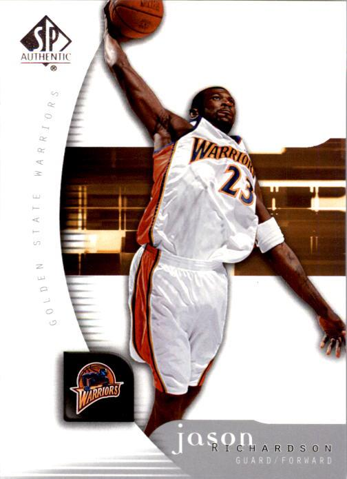 2005-06 SP Authentic #26 Jason Richardson