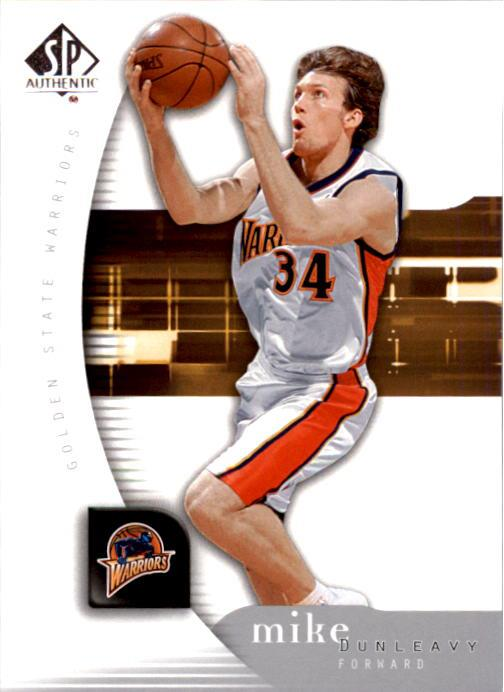 2005-06 SP Authentic #27 Mike Dunleavy