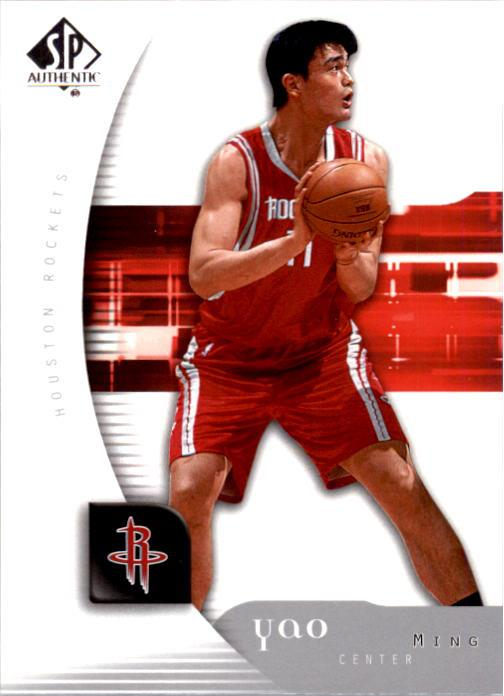 2005-06 SP Authentic #30 Yao Ming