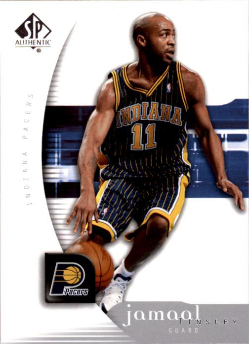 2005-06 SP Authentic #31 Jamaal Tinsley