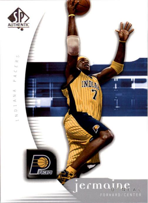 2005-06 SP Authentic #32 Jermaine O'Neal