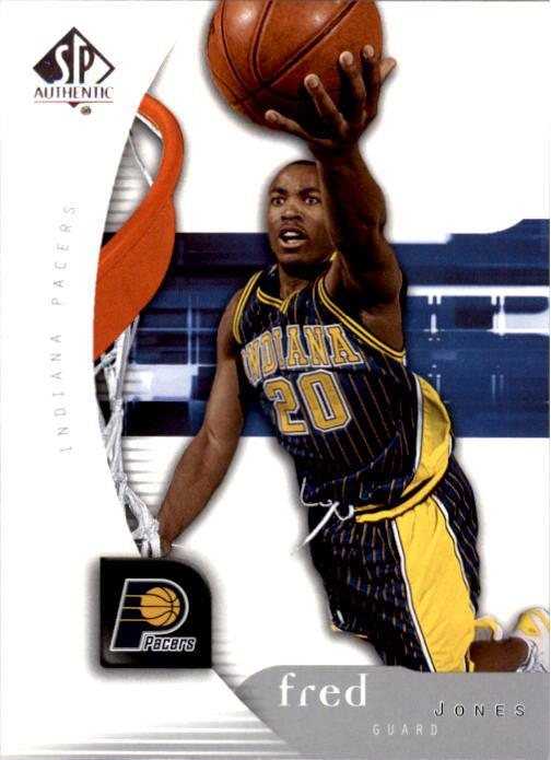 2005-06 SP Authentic #33 Fred Jones