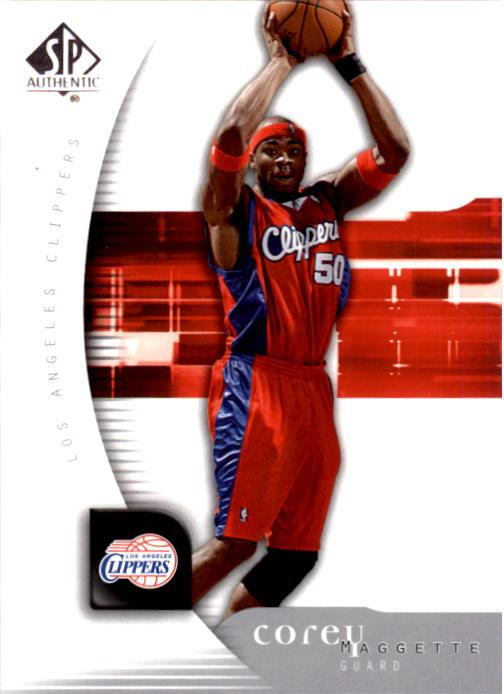 2005-06 SP Authentic #34 Corey Maggette