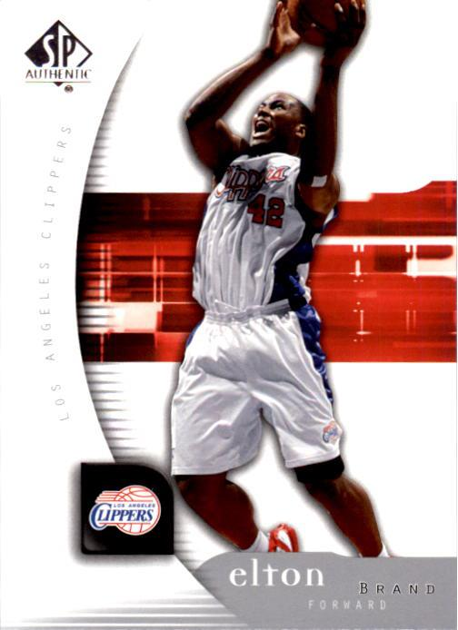 2005-06 SP Authentic #35 Elton Brand