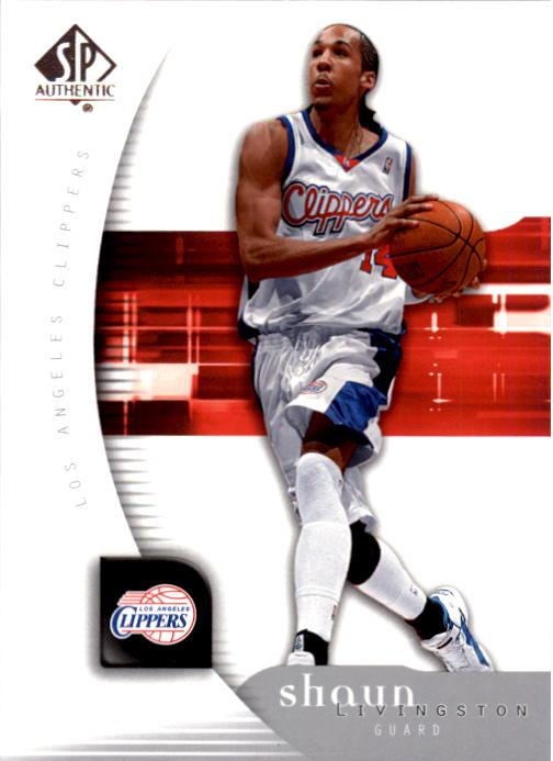 2005-06 SP Authentic #36 Shaun Livingston