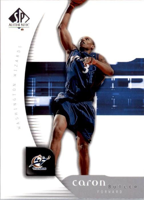 2005-06 SP Authentic #37 Caron Butler