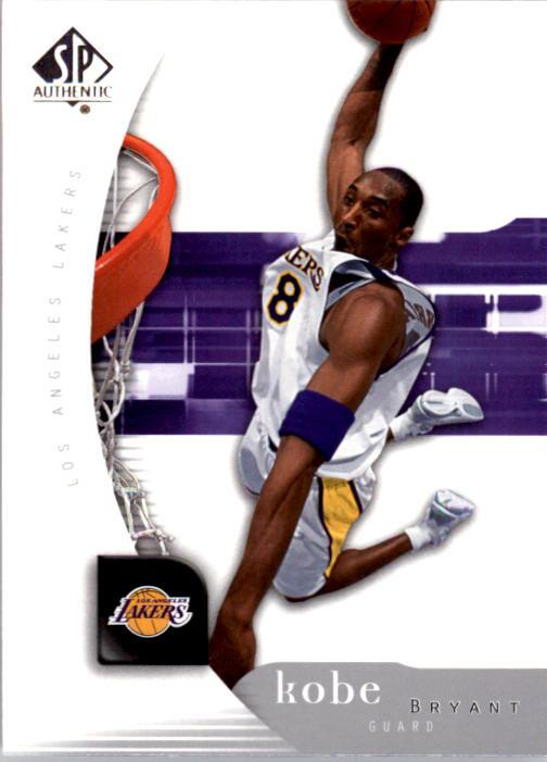 2005-06 SP Authentic #38 Kobe Bryant