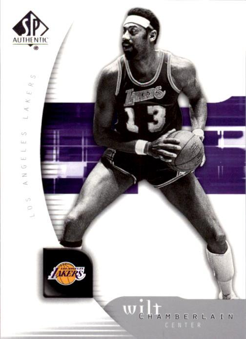 2005-06 SP Authentic #39 Wilt Chamberlain front image