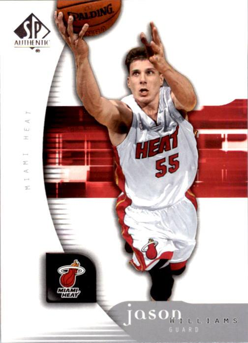 2005-06 SP Authentic #40 Jason Williams