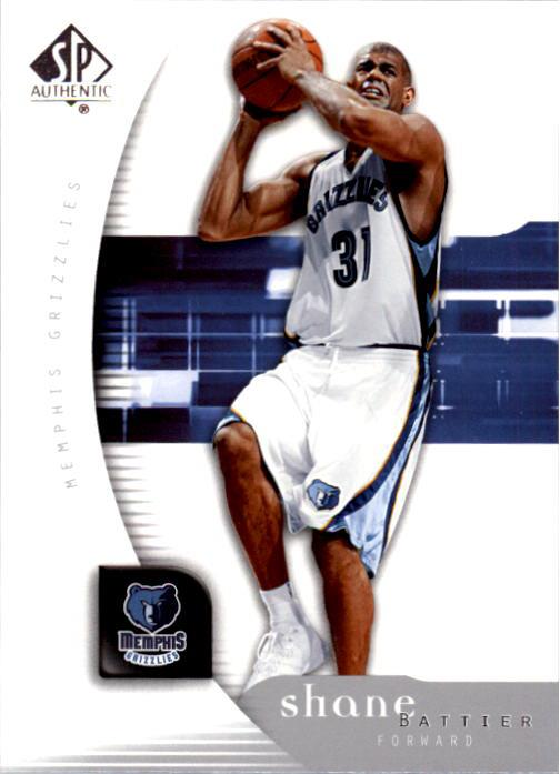 2005-06 SP Authentic #42 Shane Battier