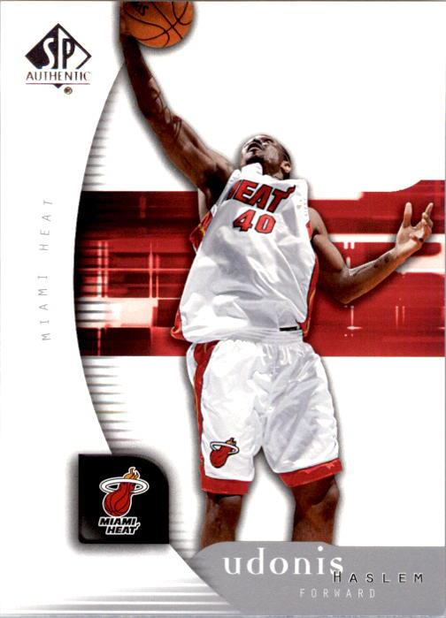 2005-06 SP Authentic #43 Udonis Haslem