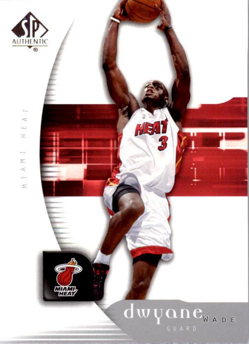 2005-06 SP Authentic #44 Dwyane Wade