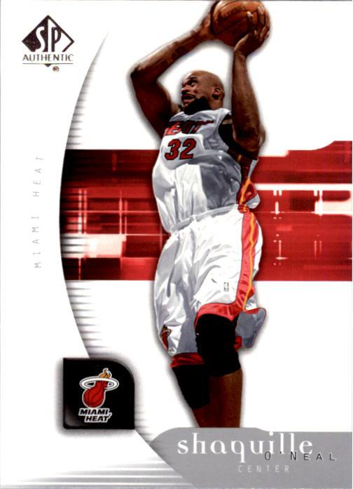 2005-06 SP Authentic #45 Shaquille O'Neal