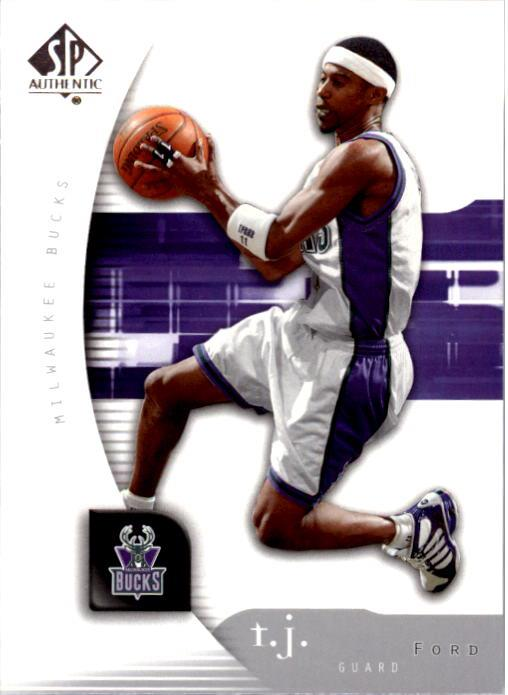 2005-06 SP Authentic #47 T.J. Ford