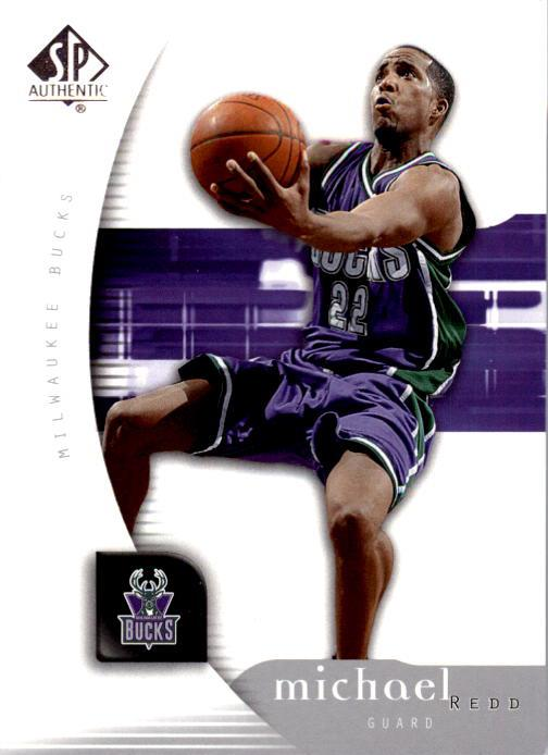 2005-06 SP Authentic #48 Michael Redd