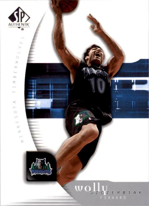2005-06 SP Authentic #50 Wally Szczerbiak
